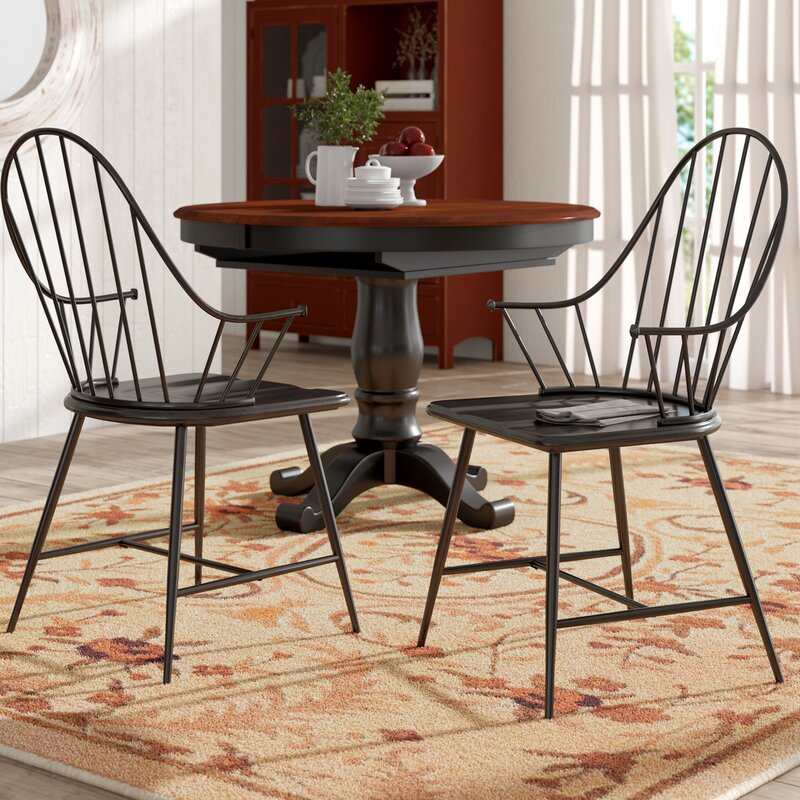 Poltimore Windsor Back Arm Chair
