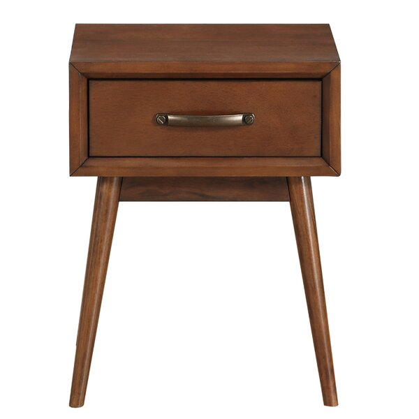 Ripton Mid-Century Modern End Table by George Oliver