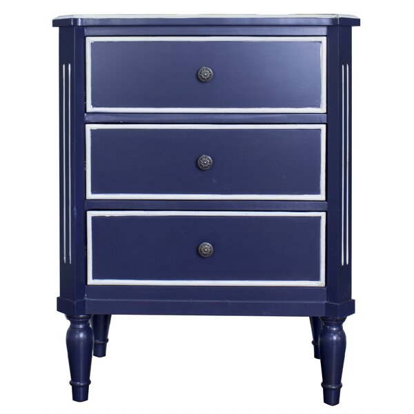 Hernadez 3 Drawer Accent Chest by Highland Dunes Highland Dunes