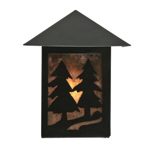 Compare prices 1-Light Outdoor Wall Lantern By Meyda Tiffany