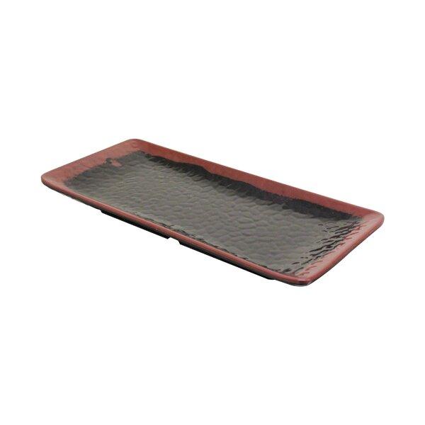 Herman Rectangular Platter (Set of 12) by Bloomsbury Market