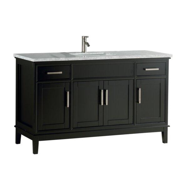 Jacksonwald Modern 60 Single Bathroom Vanity Set