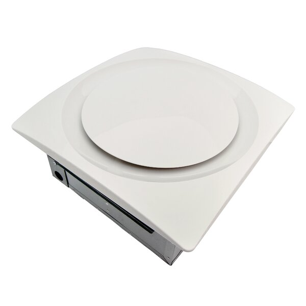 Slim Fit 120 CFM Energy Star Bathroom Ventilation Fan by Aero Pure