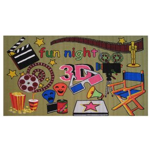 Best Fun Time Movie Time Area Rug By Fun Rugs
