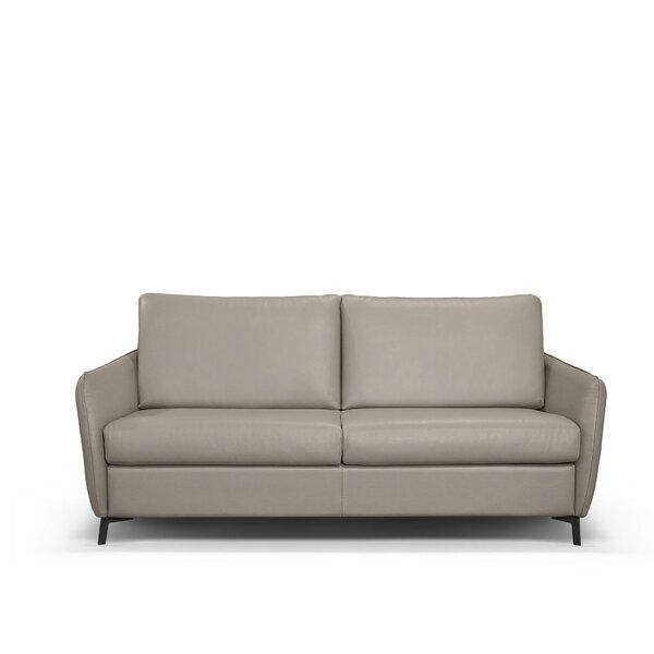 Laude Run Monreal Leather Sofa Bed