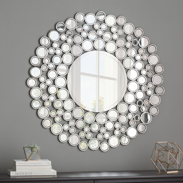 Kentwood Round Wall Mirror by Wrought Studio