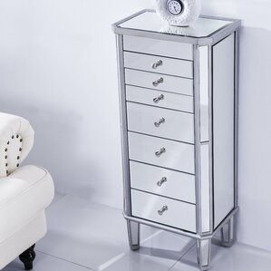 7 Drawer Jewelry Armoire by Wildon Home ?