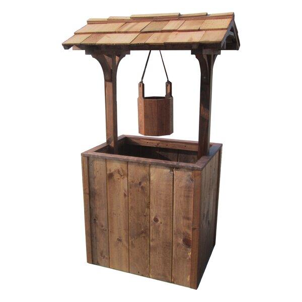 Wood Planter Box by Sams Gazebos