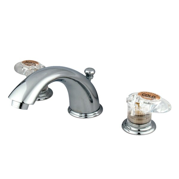 Magellan Widespread Bathroom Faucet With Drain Assembly By Kingston Brass