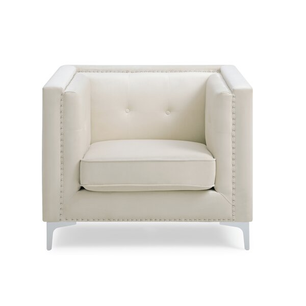 Bevier Armchair by Mercer41 Mercer41