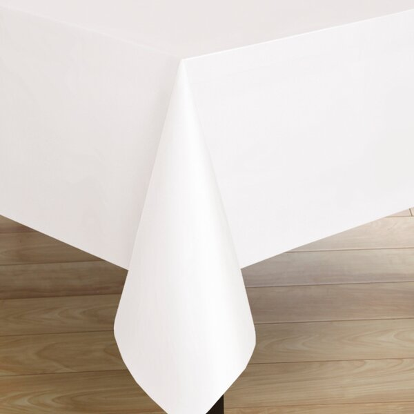 Premium Quality Square Flannelback Vinyl Tablecoth by Sweet Home Collection
