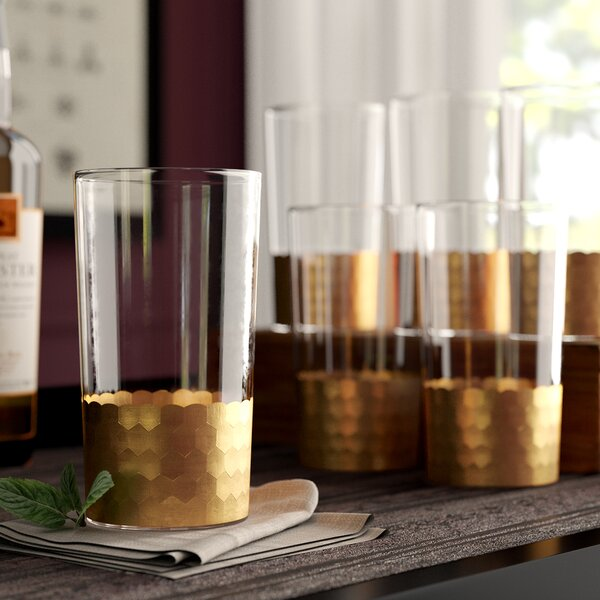 Lebanon 21 oz. Highball Glass (Set of 6) by Greyleigh