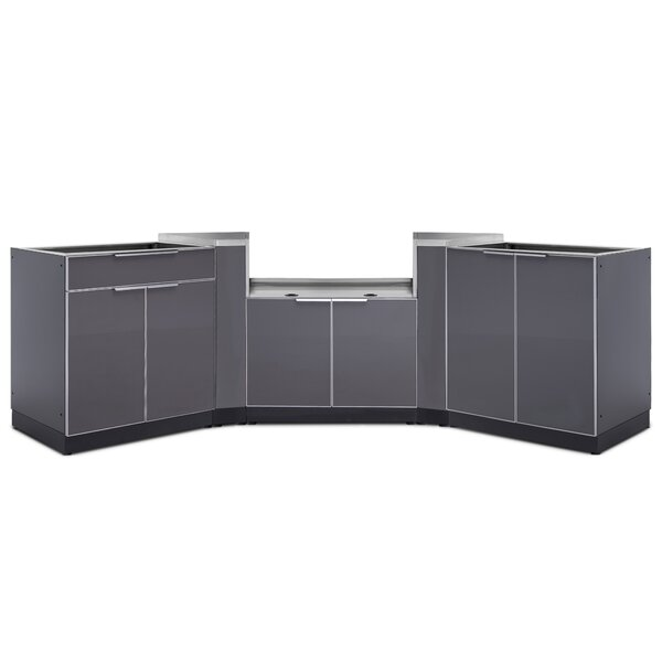 @ Kitchen 5 Piece Outdoor Bar Center Set by NewAge Products| #$2,799.99!