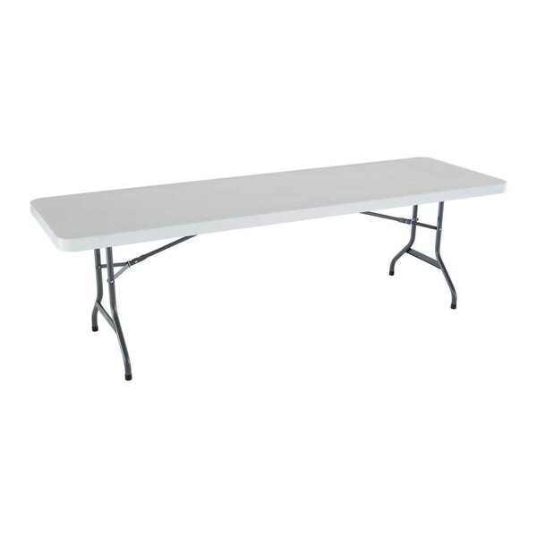 96 Rectangular Folding Table by Lifetime