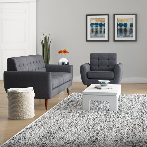Philip 2 Piece Living Room Set by Ivy Bronx