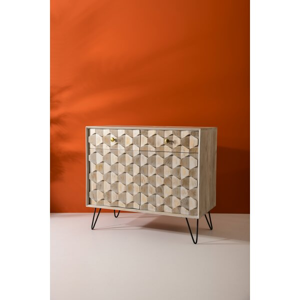 Turin Wood 2 Door Accent Cabinet by Foundry Select