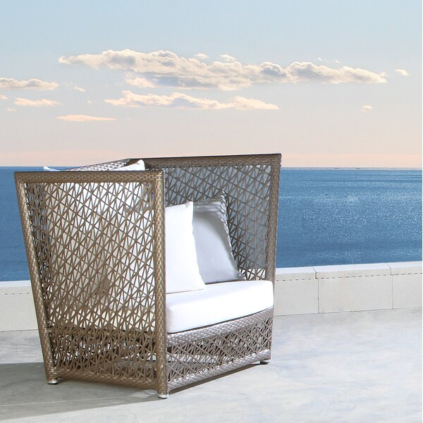 Maldives Patio Chair with Sunbrella Cushions by Panama Jack Outdoor