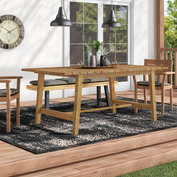 Bremen Solid Wood Dining Table by Foundry Select Foundry Select