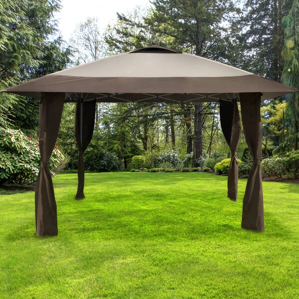 Haven 13 Ft. W x 13 Ft. D Steel Patio Gazebo by Caravan Canopy