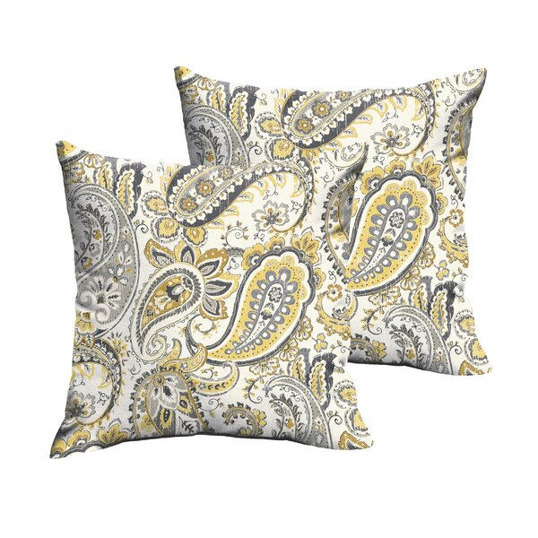 Agawam Outdoor Throw Pillow (Set of 2) by Darby Home Co