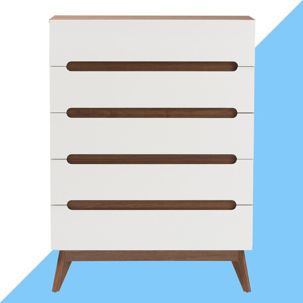 #2 Cravens 5 Drawer Chest By Hashtag Home Wonderful