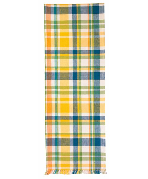 Fiala Plaid Table Runner (Set of 2) by Red Barrel Studio