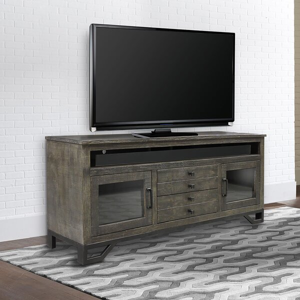 Popp Solid Wood TV Stand For TVs Up To 85