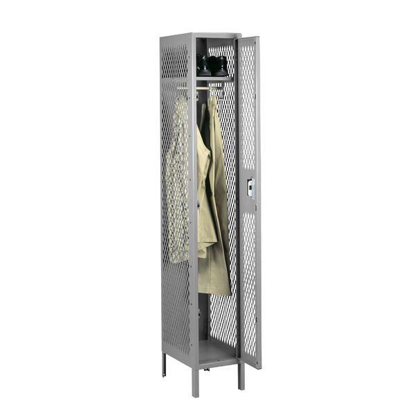 2 Tier 1 Wide Gym and Locker Room Locker by Tennsco Corp.