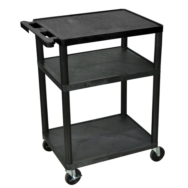 3 Shelf Utility Cart by Offex