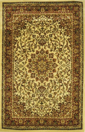 Quinnes Ivory Area Rug by Astoria Grand