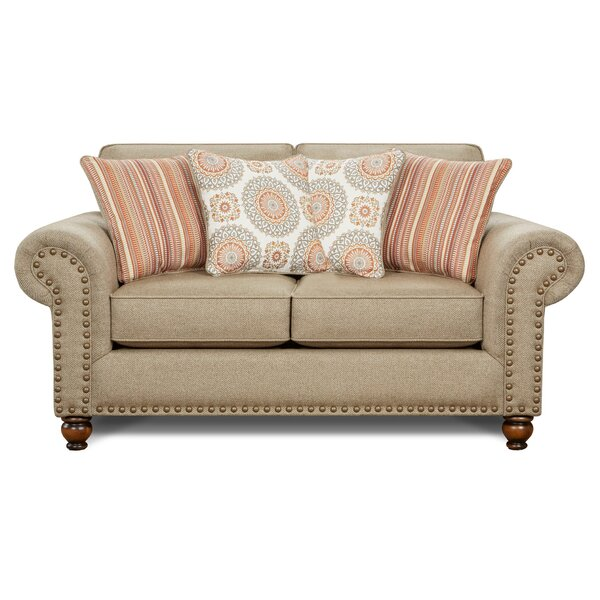 Carnaff Loveseat by Darby Home Co
