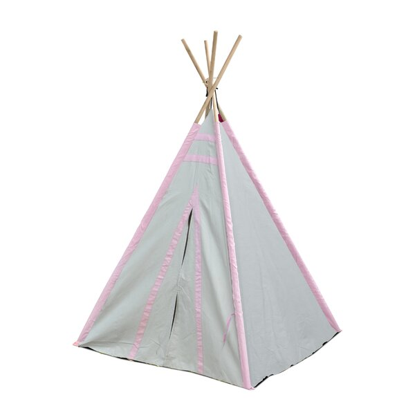 Stripes Kid Play Teepee with Carrying Bag by Herit