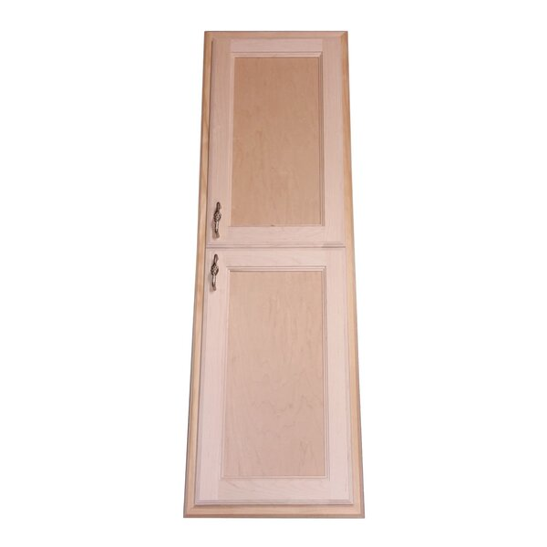 Christopher 15 W x 43 H Recessed Cabinet by WG Wood Products