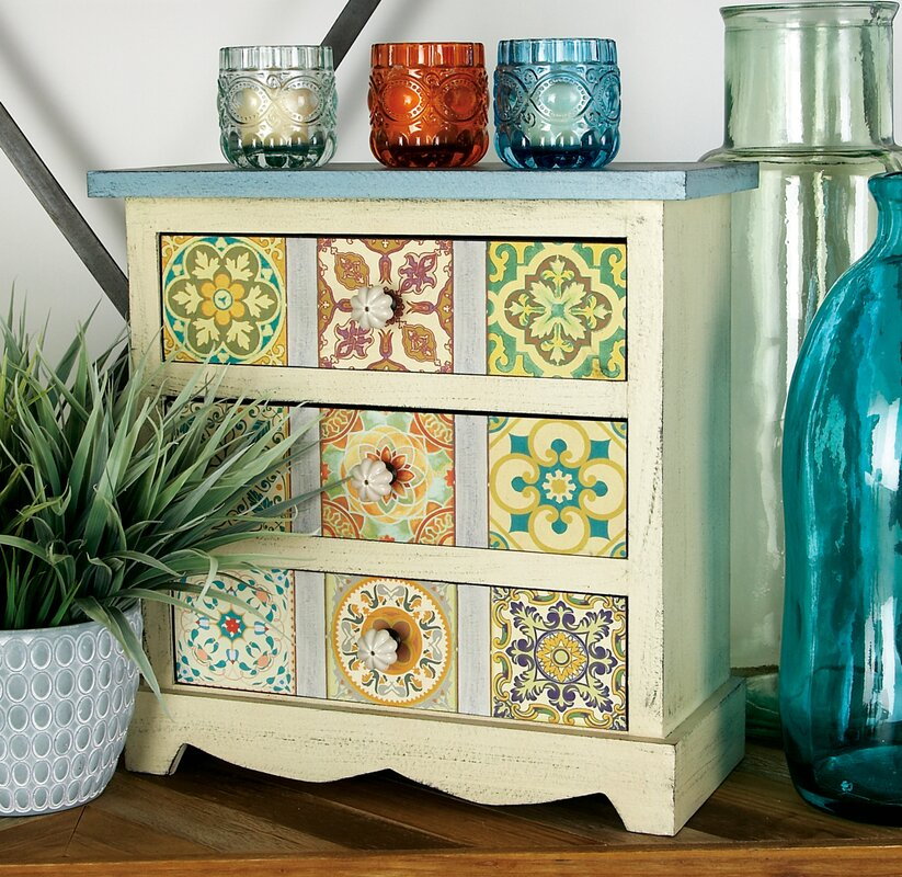 Desktop Organizers Youll Love Wayfair - Colorful glass drawers that can form an art object