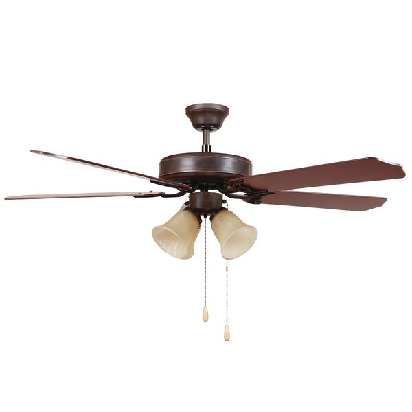 Bank 52 5-Blade Ceiling Fan by Charlton Home