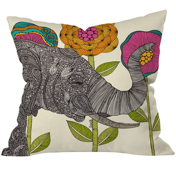 Aaron Throw Pillow by East Urban Home