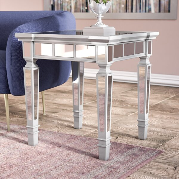 Jerlene Glam End Table by Willa Arlo Interiors