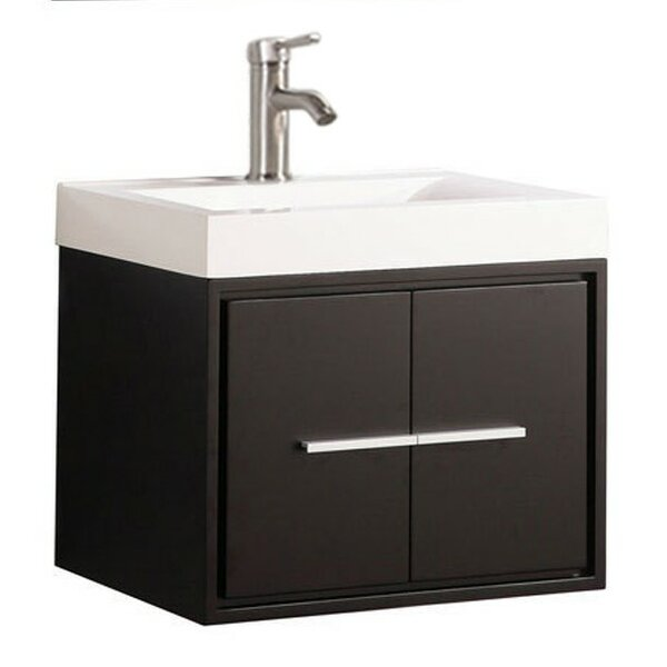 Peirce Wall Mounted Modern 30 Single Bathroom Vanity Set by Orren Ellis