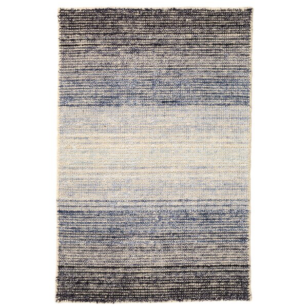 Blue Moon Blue Area Rug by Dash and Albert Rugs