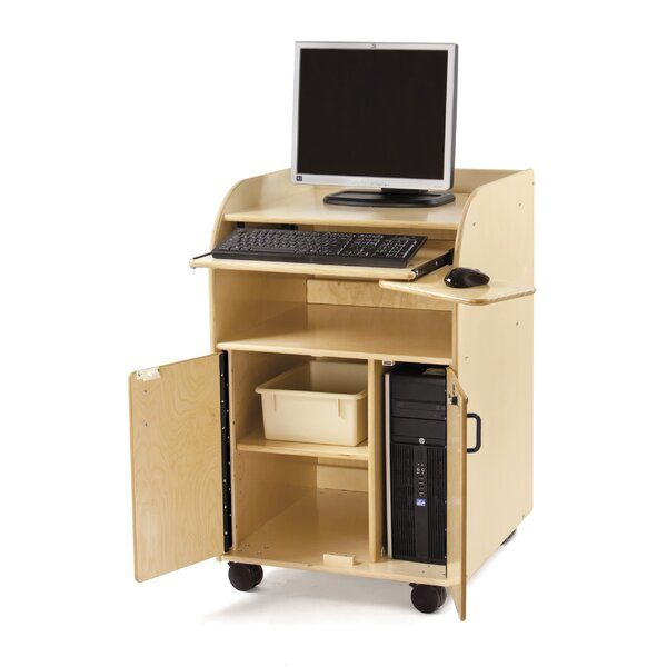 Deluxe Mobile Technology AV Cart by Jonti-Craft