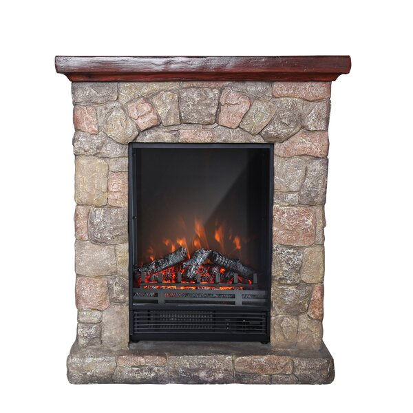 Khloe Electric Fireplace By Millwood Pines