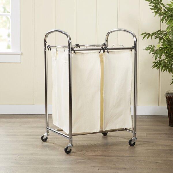 Wayfair Basics 2 Bag Laundry Sorter by Wayfair Basics™
