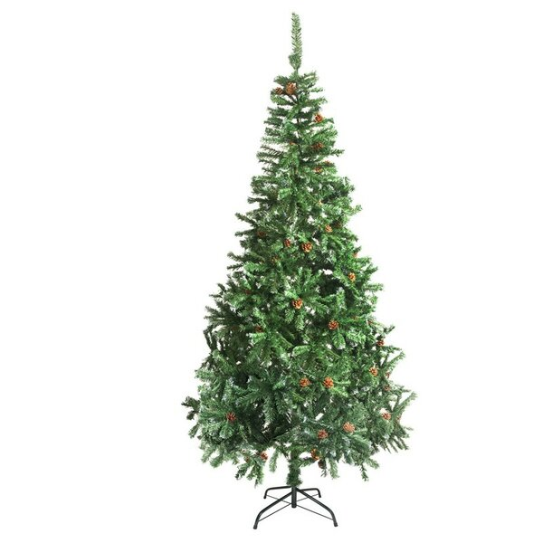 Christmas Tree With Pine Cones | Wayfair
