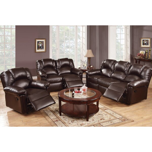 #2 Andy Reclining 3 Piece Living Room Set By A&J Homes Studio Modern