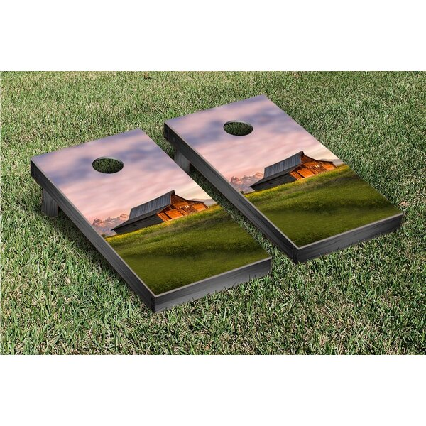 Farm In The Mountains Cornhole Game Set by Victory Tailgate