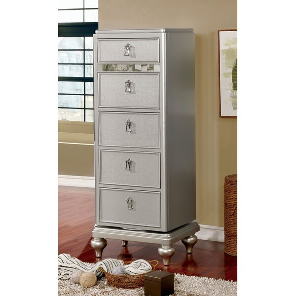 Hobart Swivel 5 Drawer Lingerie Chest by Rosdorf Park