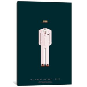 'Famous Hollywood Costumes Series: The Great Gatsby' Graphic Art Print on Canvas by East Urban Home