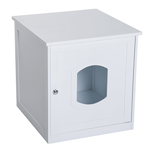 Espanola Cat Litter Box Enclosure by Tucker Murphy Pet
