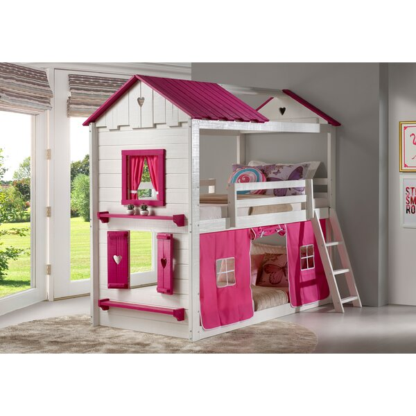 Schoonmaker Twin over Twin Bunk Bed by Zoomie Kids