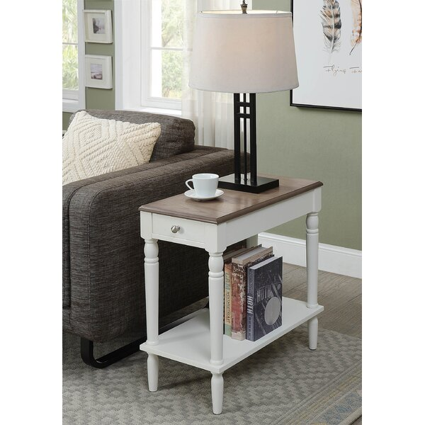 Carlisle End Table With Storage by Charlton Home